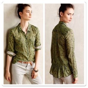 Anthropologie Arabel Buttondown